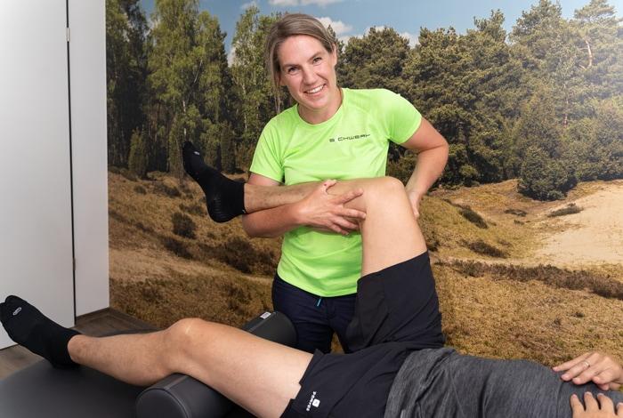 Physiotherapeutische Behandlungen in der Physiotherapiepraxis Schwert in Mesum