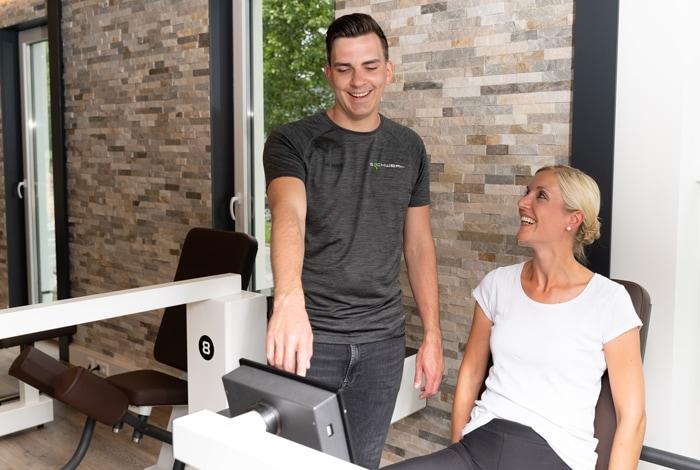 Medical Fitness Trainieren Sie sich gesund. Mit einem kontrollierten und umfassenden Gesundheitstraining.